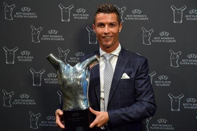 Cristiano Ronaldo se corona como el mejor jugador de Europa (FOTOS)