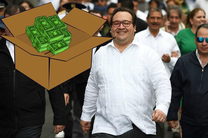 ¡Ah caray! Encuentran 23 mdp efectivo en una de las casa de Duarte ¡Escondidos en cajas de huevo!