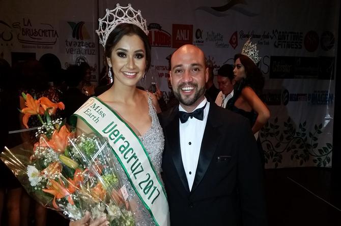 ¡Alondra Rivera enamora a todo el puerto y se corona como Miss Earth Veracruz 2017!