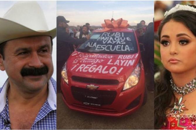 ¡Le vieron la cara a Rubí! El coche que le regaló Layin ¡resulta que no es suyo! (+VIDEO)
