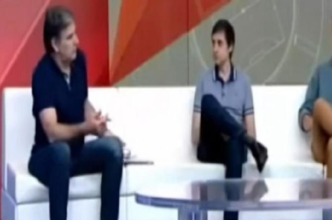 ¡Imperdible! Conductor de deportes cae en el video de los gemidos ¡en pleno programa en vivo! (+VIDEO)