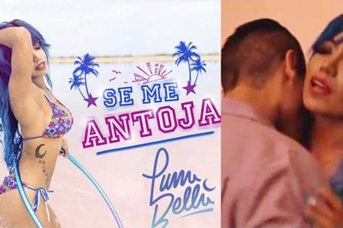 Mujer Luna Bella regresa más cachonda que nunca con nueva canción 'Se me antoja' (+VIDEO)