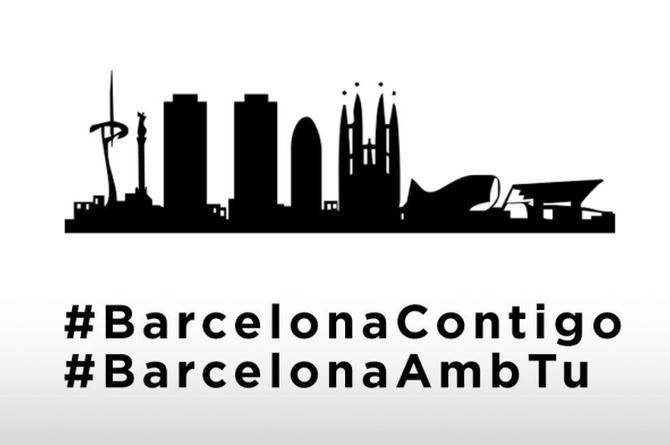 Después del terrible atentado en Barcelona, famosos reaccionan muy consternados #FOTOS
