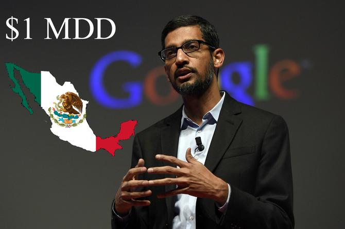Google se mochará con un millón de dólares para México por el sismo (+FOTO)