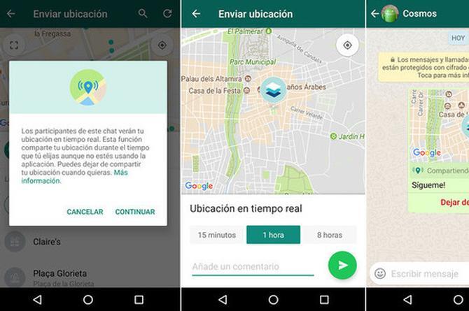 WhatsApp ya puede compartir tu ubicación ¡en tiempo real! (+FOTOS)