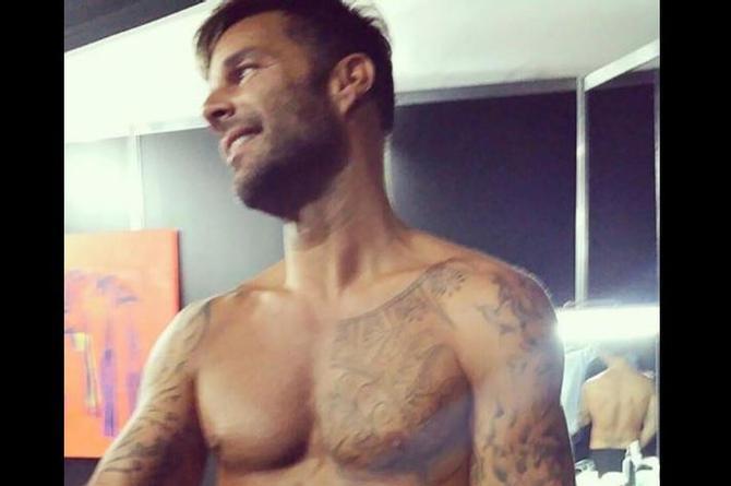 Ricky Martin comparte foto candente para robar suspiros en Instagram (+FOTO)