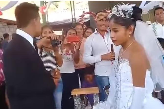 En esta boda ninguno de los novios se veía feliz y hasta rechazaron besarse (+VIDEO)