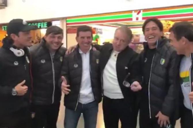 'Quico' se encuentra con el ex jugador Bruno Marioni para alegrarle vida (+VIDEO)