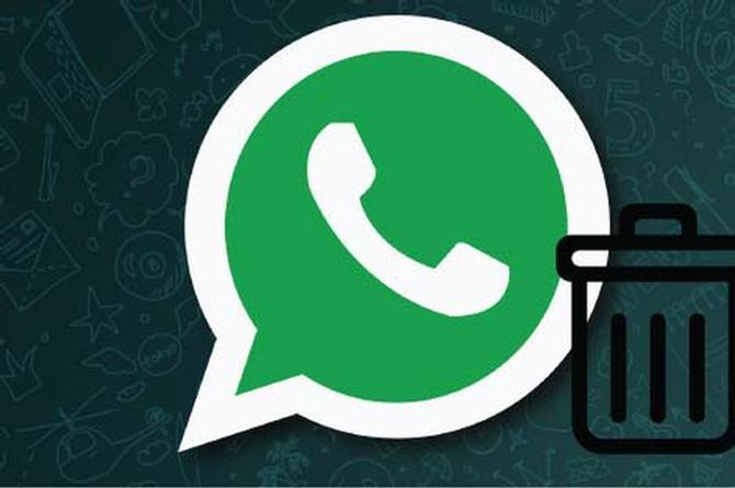 Si tu mensaje de WhatsApp fue citado no se podrá eliminar por completo