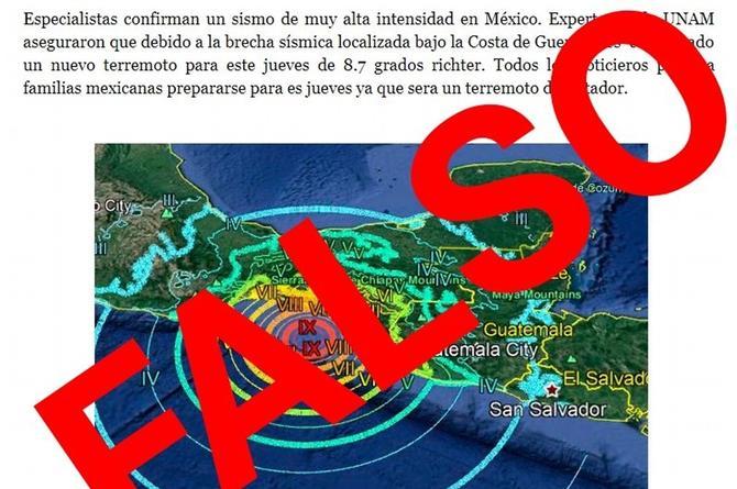 Los sismos no se pueden predecir; advierten que difundir rumores podría considerarse un delito (+FOTO)