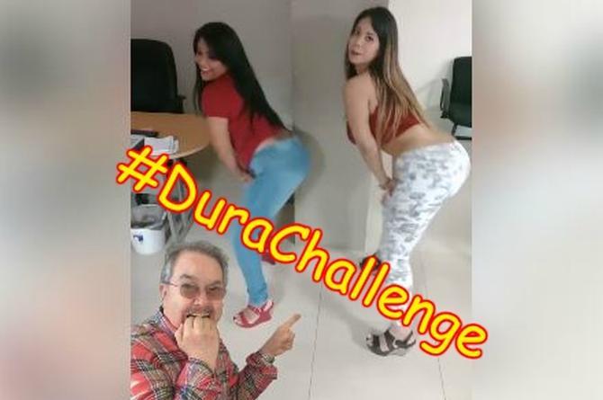 Locutoras de La Fiera se unen al #DuraChallenge; si como lo mueven lo baten... (+VIDEO)
