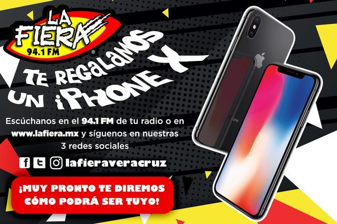 ¡La Fiera 94.1 FM tiene para ti un iPhone X! (+VIDEO)