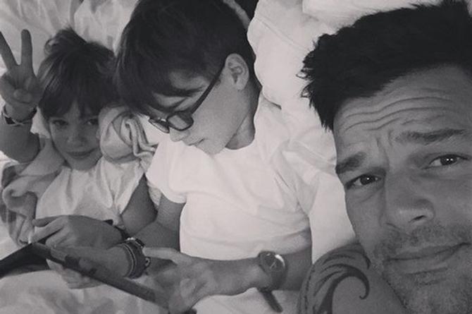 ¡Fuertes declaraciones! A Ricky Martin le gustaría que sus hijos fueran gays (+VIDEO)