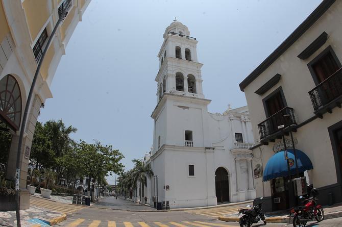 Hoy mucho calor en Veracruz; por la noche probables lluvias